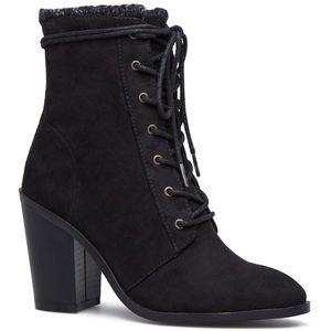 Size 11 heeled booties